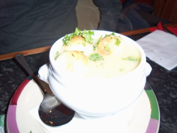 Frankie and Benny's, Soup of the Day, french onion soup, soup, dining out, restaurant