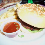 Frankie and Benny&#039;s, Mediterranean Veg Burger