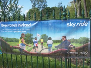 Sky Ride, Preston, Avenham Park, Sky, cycling, cycling event