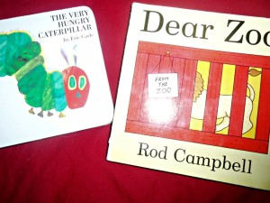the very hungry caterpillar, dear zoo, books, children children's books