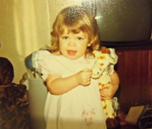 two year old, toddler, 1980's, eighties child, eighties