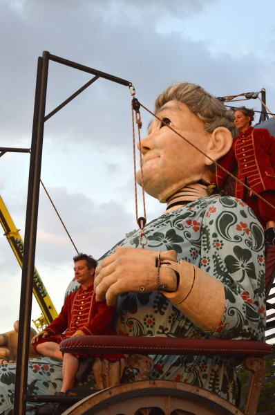 2014giantspectacular grandma 398x600 Giant Spectacular. The Giants are back in Liverpool!