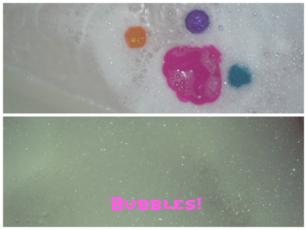 munchkinlush 600x450 A bath fit for a princess..with help from Munchkin and Lush!