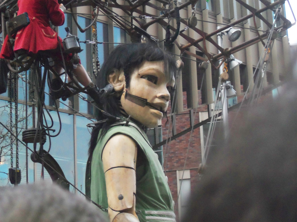 Little Girl Giant, Giant Spectacular, Sea Odyssey