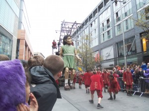 Giant Spectacular, Little Girl Giant, Sea Odyssey, Liverpool