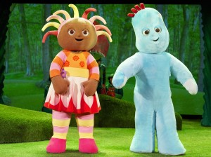 In The Night Garden Live, Iggle Piggle, Upsy Daisy, Trafford Centre, Manchester