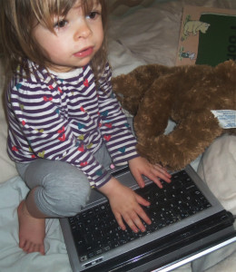 toddler and technology, toddler, laptop, technology, geek