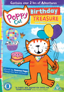 Poppy Cat Birthday Treasure and Other Adventures, Poppy Cat
