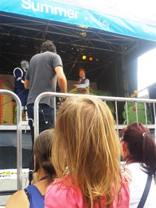 Justin Fletcher, Robert, Justins House, Salford, MediaCity, CBeebies, event, Summer in the City