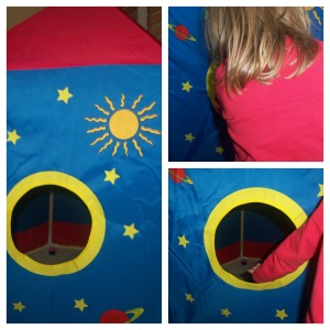 rocket play tent, play tent, play house, children toys, children