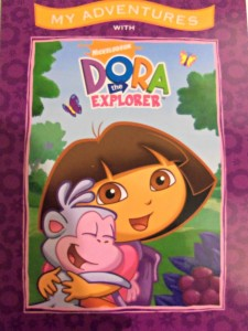 personalised book, dora the explorer, nickelodeon,