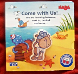 haba, come with us, book, magnetic book, book, review