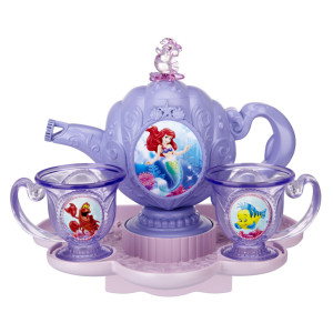 Ariel Bubble Tea Set, Disney Princess, bath toys, bubble toy, Disney, Ariel, Little Mermaid