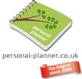 personal planner, planner, diary, personalised gifts, diaries