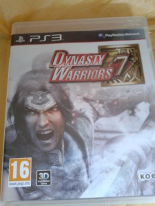 dynasty warriors, ps3 game, ps3, gaming,