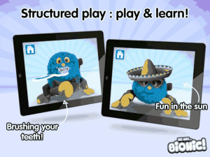 woolly and tig, cbeebies, iphone app, ipad app, children's app