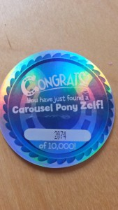 zelf, mary go-round, carousel zelf, zelfs, limited edition, moose toys